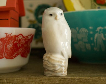 Royal Copenhagen Porcelain Owl Figurine