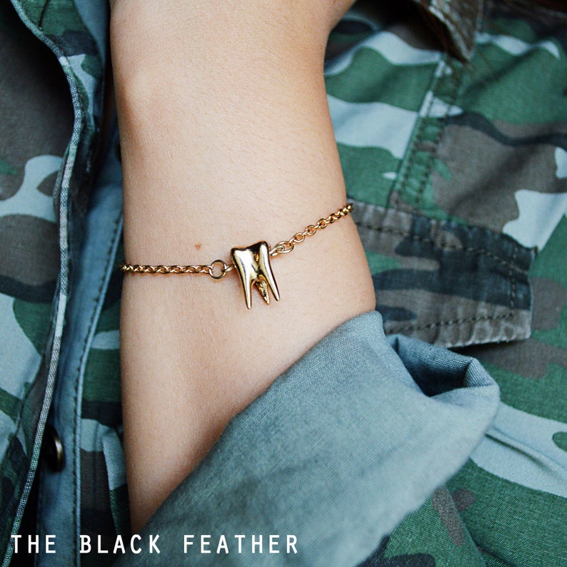 Gold Tooth Bracelet  Sweet Tooth image 0
