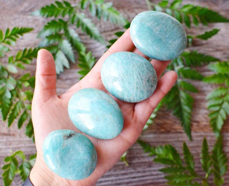 Amazonite Palm Stone image 0