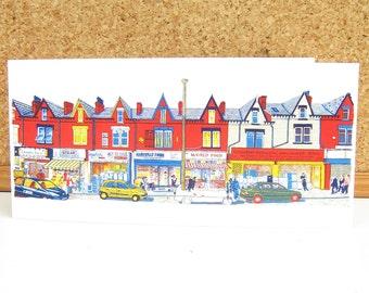 Harehills Lane - Leeds Greeting Card