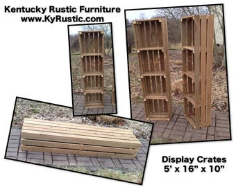 Display Crates. Free shipping