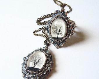 Tiffany's True Serenity: Locket-Ring Set Mother's Day gift