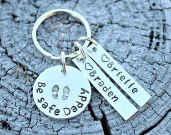 Be Safe Daddy Keychain