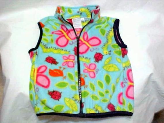 Sizes from 6 months to Size 6 Child  Fleece Vest ESPRESSO BROWN