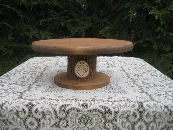 Outstanding Rustic Cake Stand Wedding Cake Stand Rustic Wedding Personalized Cake Stand Log Cake Stand Tree Cake Stand Cupcake Stand Wood Stand Ibusinesslaw Wood Chair Design Ideas Ibusinesslaworg