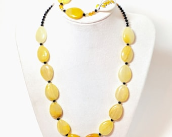 Love and Sunshine necklace and earrings set