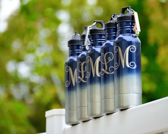 Many Colors to choose from Powder Coated Stainless Steel Beverage Holder Free Monogram or Name