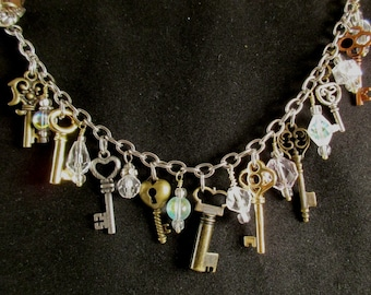 Steampunk Little Keys Bracelet