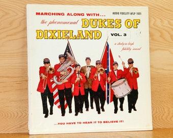 Dukes of Dixieland Vol. 3 - Audio Fidelity Records AFLP-1851 - Vintage 33 1/3 LP Record - 1957