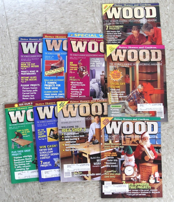 1996 Wood Magazine Issue No. 85 93 Better Homes And | Etsy