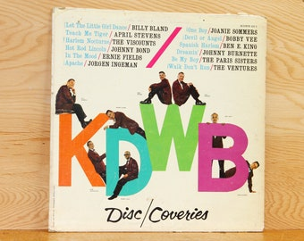 KDWB Disc/Coveries - Various Artists - Liberty Records KDWB 63-1 - Vintage 33 1/3 LP Record - 1960s