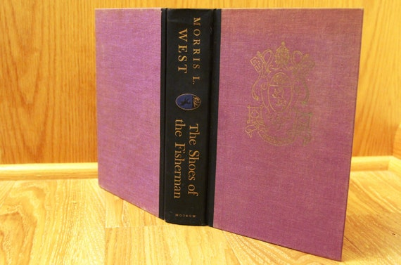 The Shoes of the Fisherman - by Morris L  West - 1963 Adult Fiction Book