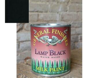 General Finishes Milk Paint - Lamp Black