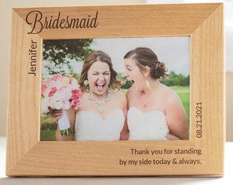 Bridesmaid Frames Etsy