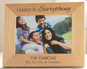 Family Picture Frame Etsy