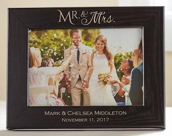 Mr And Mrs Frame Etsy
