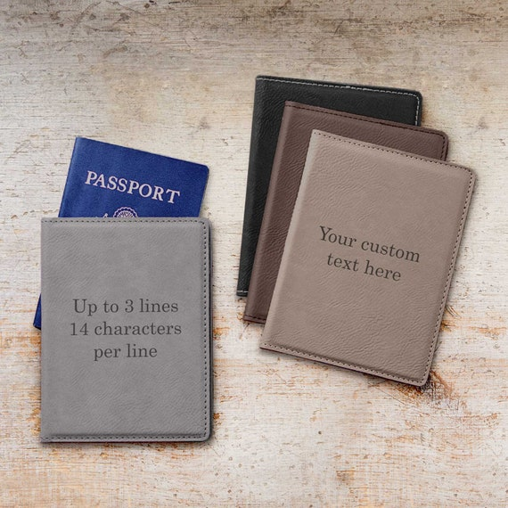 Personalized Passport Cover Create Your Own Custom Passport Etsy