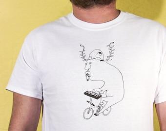 "Screen Printed T-Shirt ""I Like To Play"" Unisex"