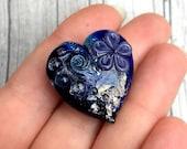 Heart shaped pretty flowe...