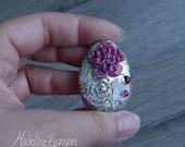 Rock Rose, vintage, silve...