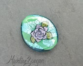 Lilac Tattoo Style Rose o...