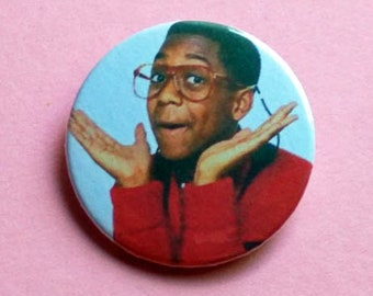 Steve Urkel - button badge or magnet 1.5 Inch