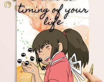 "Anime Wall Calendar 2021 12 page 8/""x11/"" RAGNAROCK Art Manga A2-7052"