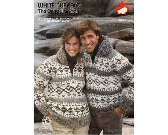 5d00650a5 White Buffalo Zip Sweater Knitting Pattern Cardigan