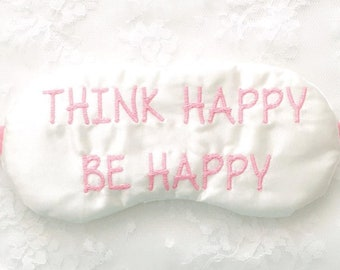 THINK HAPPY Be Happy sleep mask