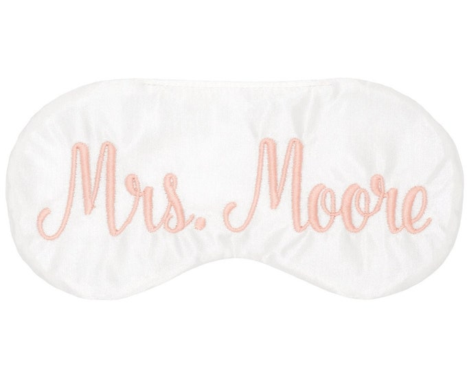 Featured listing image: Personalized sleep mask