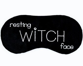 Personalized sleeping eye mask • Bachelorette favor • Custom name sleep mask • Bridesmaids gift • Slumber party favor • Personalized gift