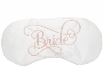 Bride sleep eye mask