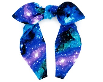Top knot headband • GALAXY