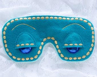 Holly Golightly Breakfast at Tiffany's Big Little Lies Audrey Hepburn sleep eye mask