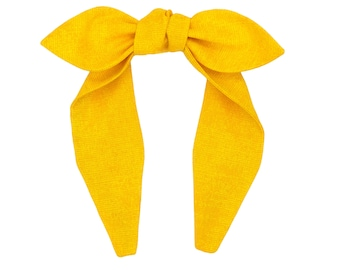 Top knot headband • LEMON