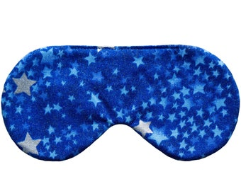 STARS sleep mask, Handmade sleep mask, Brunch party favors, Birthday party favors, SPA eye mask, Slumber party favor, Bridesmaids gift