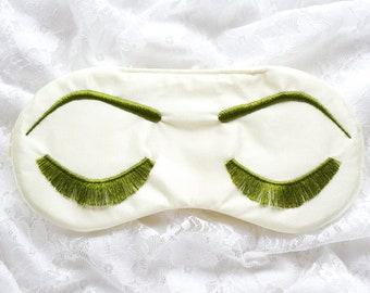 Holly Golightly sleeping mask • IVORY and OLIVE