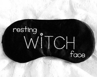 RESTING FACE sleeping eye mask
