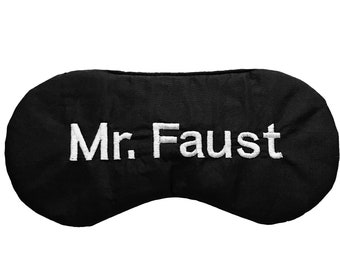 Personalized men natural silk sleep mask