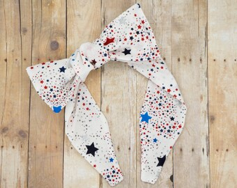 Top knot headband • STARS and SPARKLE