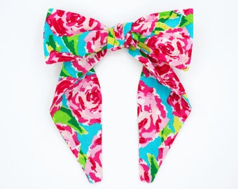 Top knot headband • WATERCOLOR ROSES