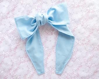 Top knot headband • BABY BLUE