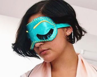 Breakfast at Tiffany's Holly Golightly sleep mask • Big Little Lies sleep mask • Adjustable sleep mask • Vintage Glam Sleep Mask