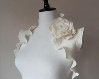 Wedding Bridal Bolero Shrug Ivory