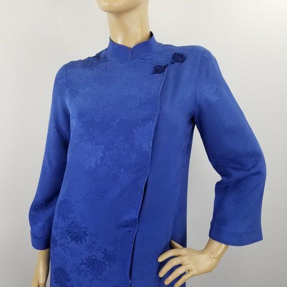 Tori Richard Cheongsam Hostess Dress Vintage 1970s