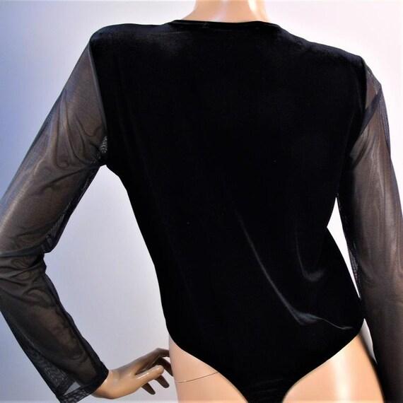 Vintage Illusion Bodysuit, Tender Secrets Bodice,… - image 4
