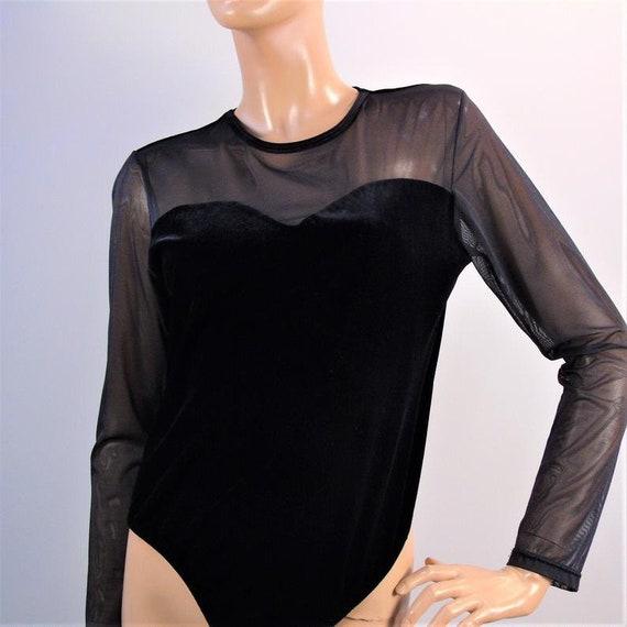 Vintage Illusion Bodysuit, Tender Secrets Bodice,… - image 6