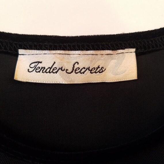 Vintage Illusion Bodysuit, Tender Secrets Bodice,… - image 5