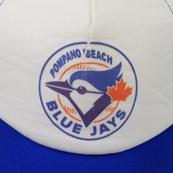 Vintage Toronto Blue Jays Baseball Hat 1986 Pompano Beach  0ce0e870dda7