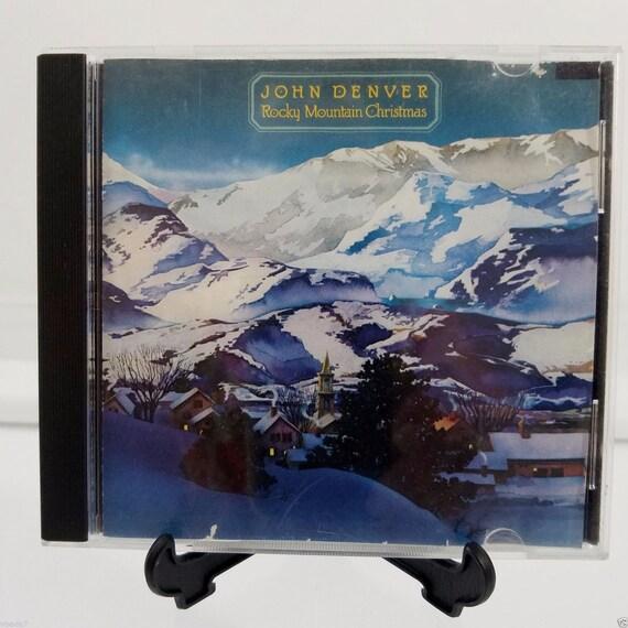 John Denver Christmas.John Denver Rocky Mountain Christmas Vintage Audio Cd Christmas Music